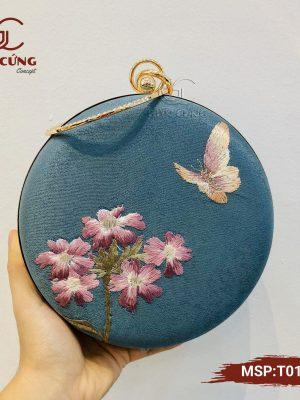 Túi xách nữ - Túi tròn T015