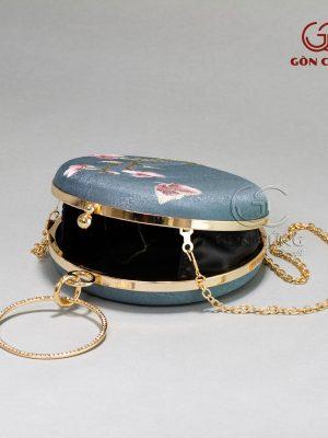 Túi xách nữ – Túi tròn T015