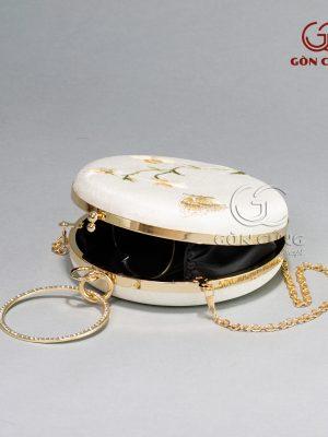 Túi xách nữ – Túi tròn T006