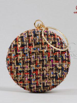 Túi xách nữ - Túi tròn T018